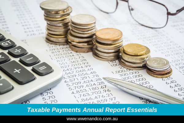 Taxable payments annual reporting