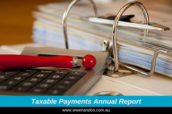 Builders' Taxable Payments Report Deadline