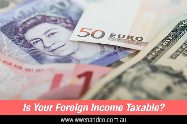 Taxation On Foreign Income