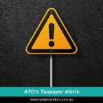 ATO's taxpayer alerts informing the public about emerging issues - image