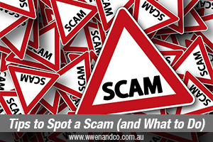7 Tips For Spotting Scams