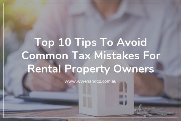 10 helpful tips to avoid common tax mistakes for rental property owners