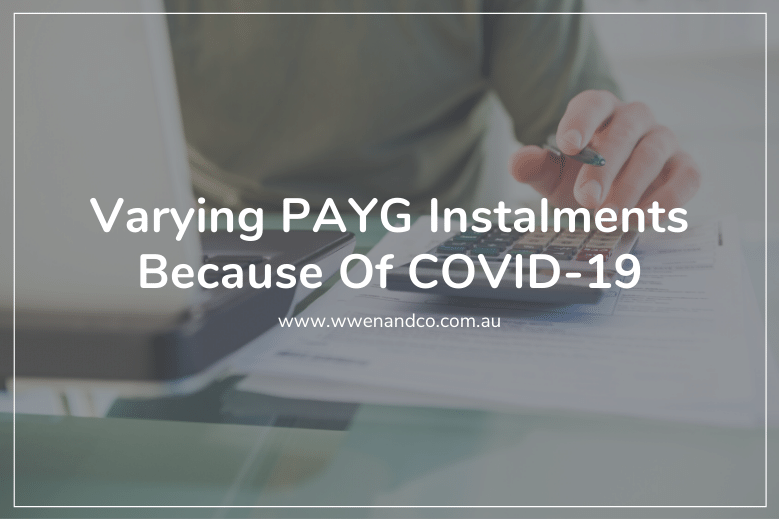 The ATO is providing flexible PAYG instalments to taxpayers experiencing financial difficulty as a result of COVID-19.